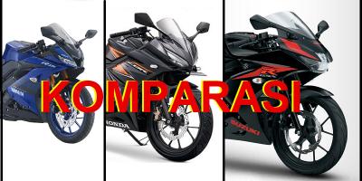 Komparasi Yamaha R15, Honda CBR 150R Atau Suzuki GSX 150R, Pilih Yang Mana?