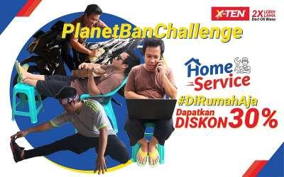 #PlanetBanChallenge: Di Rumah Aja, Dapat Diskon 30%!