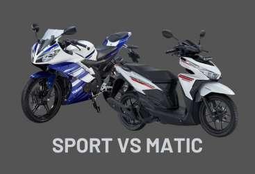 Pilih Matic atau Motor Sport Untuk Berkendara Harian?